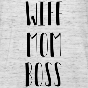 Wife Mom Boss - Singlet for kvinner fra Bella