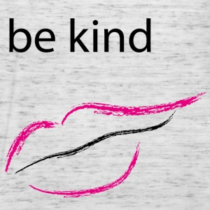 Be kind mund - Frauen Tank Top von Bella