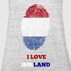 I LOVE HOLLAND T-SHIRT - Frauen Tank Top von Bella