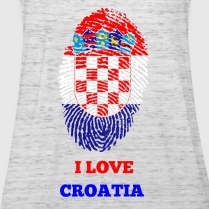 I Love Croatia - Frauen Tank Top von Bella