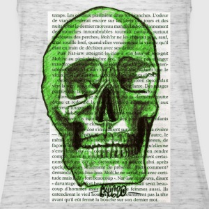 GREEN SKULL - Tank top damski Bella