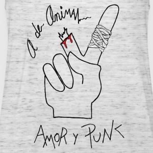 Love and Punk - Women's Tank Top by Bella
