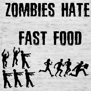 Zombies hate fast food - Naisten tankkitoppi Bellalta