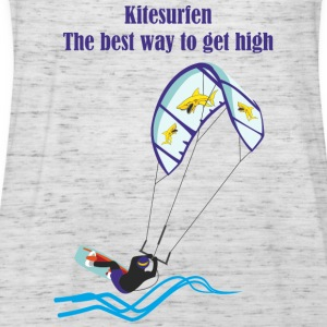 Kitesurfing The best way - Women's Tank Top by Bella