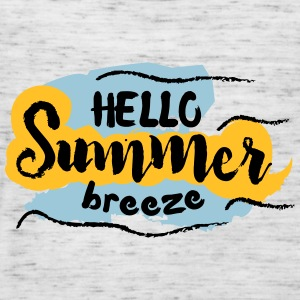 Hello Summer Breeze - Women's Tank Top by Bella