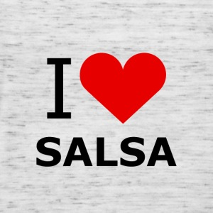 I Love Salsa Shirt - DanceShirts - Frauen Tank Top von Bella
