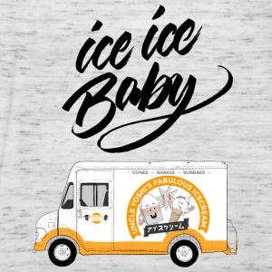 Ice Truck - Ice Ice Baby - Women's Tank Top by Bella