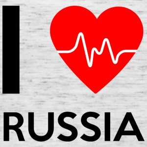 I Love Russia - I love Russia - Women's Tank Top by Bella