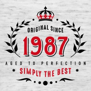 original since 1987 simply the best 30th birthday - Women's Tank Top by Bella