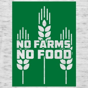 Farmer / Farmer / Farmer: No Farms, No Food - Women's Tank Top by Bella