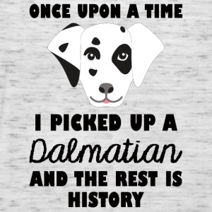 Dog / Dalmatian: Once Upon A Time I Picked Up - Women's Tank Top by Bella