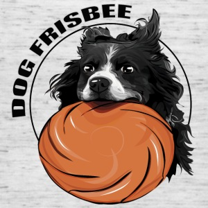 DOG FRISBEE Border Collie - Women's Tank Top by Bella