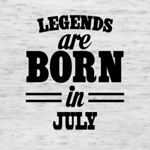 Legends are born in July - Women's Tank Top by Bella