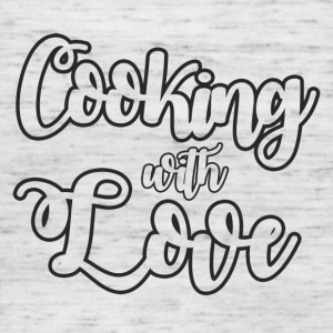 Cook / Chef: Cooking With Love - Singlet for kvinner fra Bella