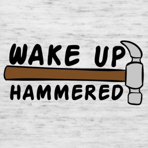 Roofing: Wake Up Hammered - Women's Tank Top by Bella