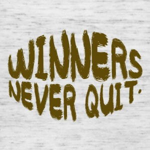 Coach / Trainer: Winners Never Quit - Women's Tank Top by Bella
