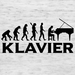 Evolution Klavier Piano bt - Frauen Tank Top von Bella