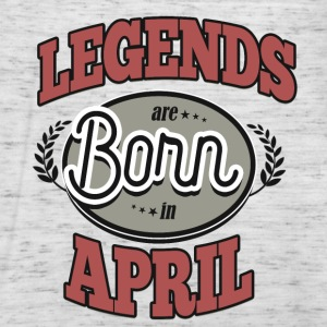 Birthday April legends born gift birth - Women's Tank Top by Bella