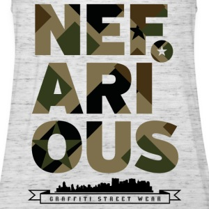 Nefarious Military Street Wear - Women's Tank Top by Bella