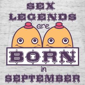 Birthday September Tits Sex legends born B - Women's Tank Top by Bella