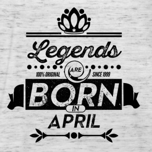 Legends April born birthday gift Young - Women's Tank Top by Bella