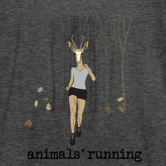 Antilope running