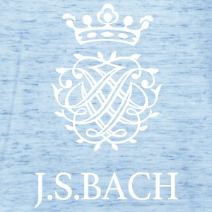 J S Bach and his Seal - Women's Tank Top by Bella