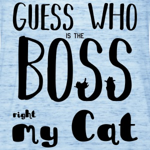 Guess who is the Boss - Women's Tank Top by Bella