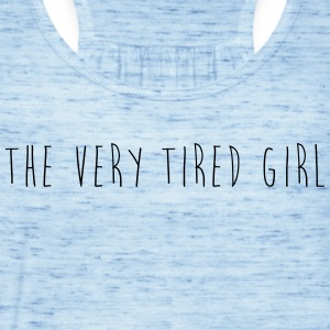 the very tired girl - Women's Tank Top by Bella
