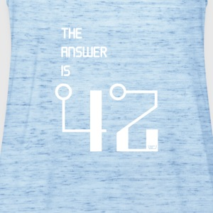 The Answer is 42 - Women's Tank Top by Bella