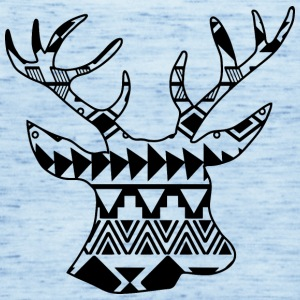 Native Deer black - Frauen Tank Top von Bella