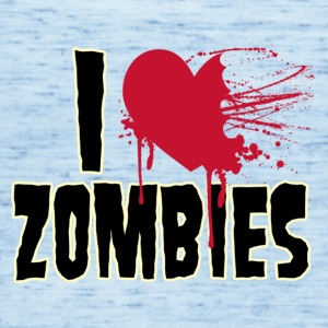 i love zombies - Women's Tank Top by Bella