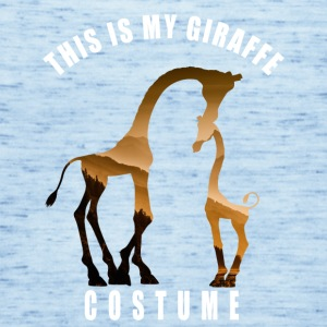 kostyme giraff elsker Neck Animal Carnival Humor LOL - Singlet for kvinner fra Bella