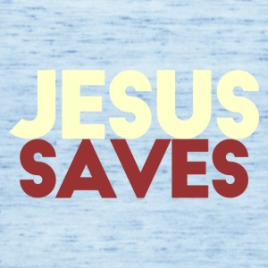 Jesus Saves - Singlet for kvinner fra Bella