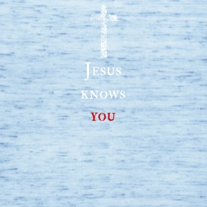 Jesus kennt dich Jesus knows you - Frauen Tank Top von Bella