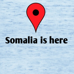 Somalia is here - Singlet for kvinner fra Bella