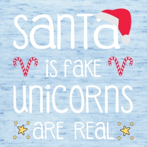 Santa is fake - Unicorns are real - Frauen Tank Top von Bella
