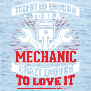 TALENTED mechanic - Women's Tank Top by Bella