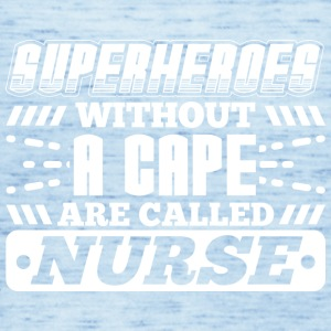 SUPERHEROES NURSE - Women's Tank Top by Bella