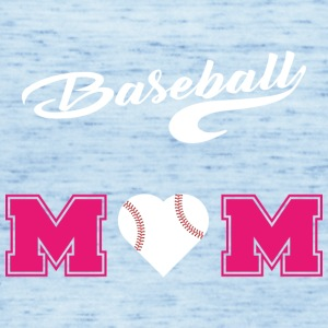 baseball Mom3 - Tank top damski Bella