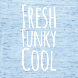 Frisk Funky Cool white - Singlet for kvinner fra Bella