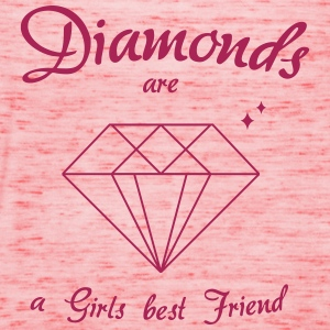Diamonds are a Girls best Friend - Frauen Tank Top von Bella