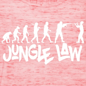 JUNGLE_LAW - Frauen Tank Top von Bella