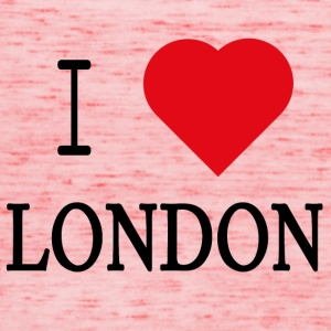 I Love London - Dame tanktop fra Bella