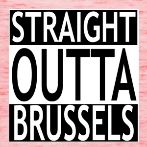 Straight outta Brussels - Frauen Tank Top von Bella