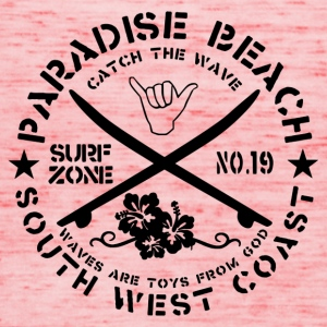 Paradise Beach Logo - Women's Tank Top by Bella