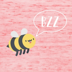 Bee - bzz - funny - funny - nature - summer - Women's Tank Top by Bella