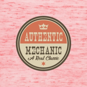 AUTHENTIC MECHANIC - MECHANIC - Women's Tank Top by Bella