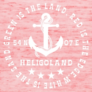 Heligoland Logo Anchor - Women's Tank Top by Bella