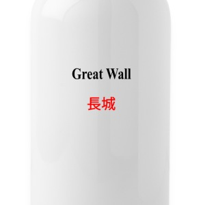 Great_Wall_of_China - Water Bottle